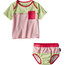 Patagonia Infants Little Sol Swim Set Feather Pink